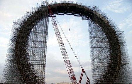 """Крупнейшее в мире колесо обозрения """"Поворот фортуны"""""""
