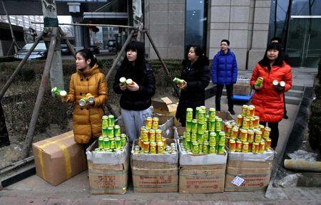 В Пекине начали продавать воздух в банках