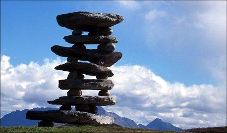 Chris Booth - Каменные скульптуры