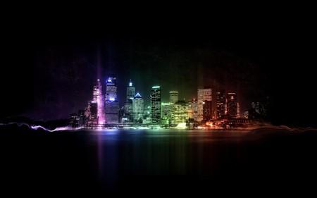 Вечерний город 2