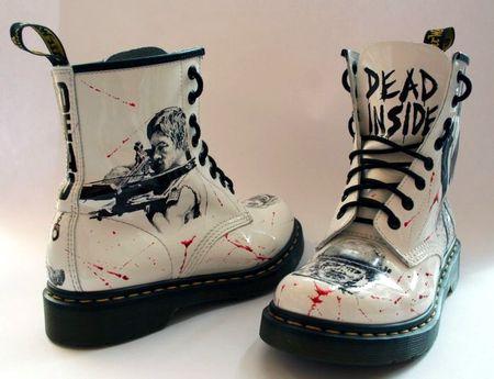 Ботинки Walking Dead
