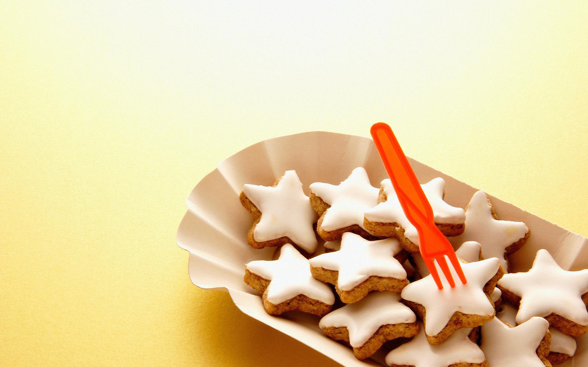 печенье звезды тарелка  № 2926822 загрузить