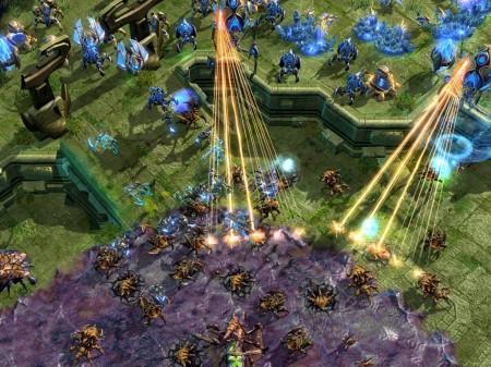 StarCraft празник открытия