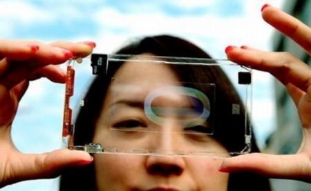 Создан первый в мире полностью прозрачный телефон