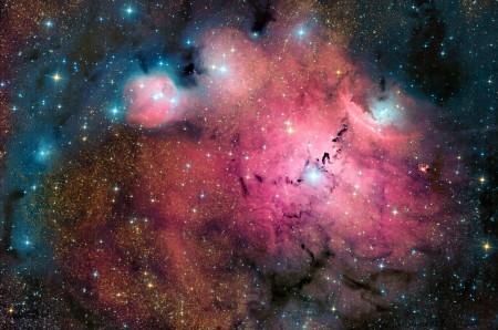 Как сделать картинку просто космос