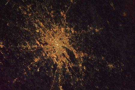 Ночные города из космоса – самые свежие снимки с МКС