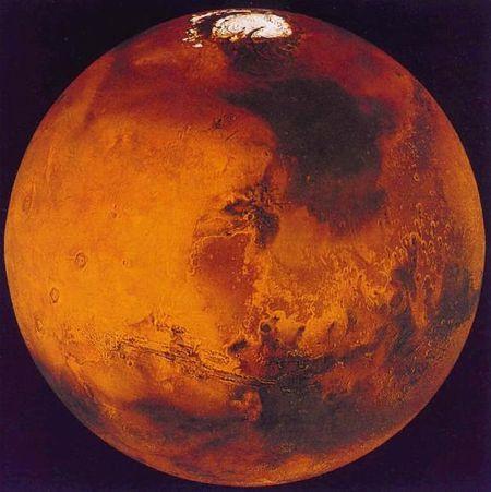 Какого цвета Красная планета?