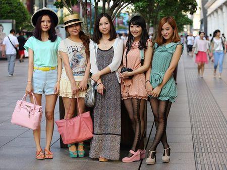 Китайские девчонки