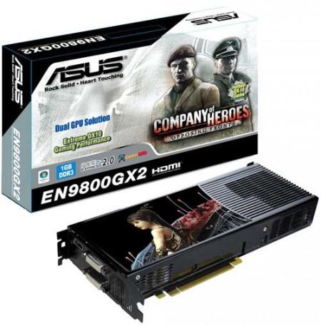 Видеокарты на базе GeForce 9800 GX2 от ASUS, Colorful и ECS