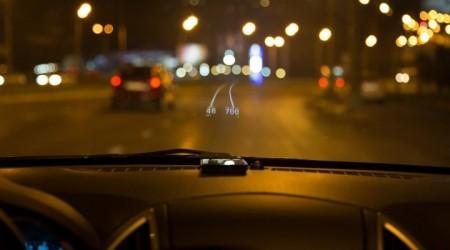 Hudway: проекция навигационных данных на лобовое стекло при помощи смартфона