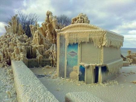 После зимнего шторма в Онтика