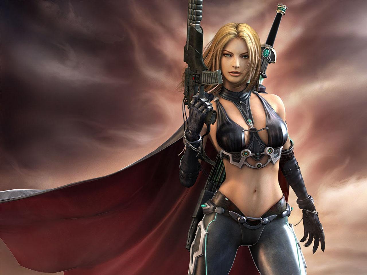 Erotic fantasy warriors anime tube