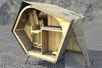 Компактный дом Ufogel