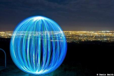 Световые шары фотографа Denis Smith