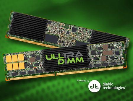 ULLtraDIMM: SSD-накопители в формате RAM