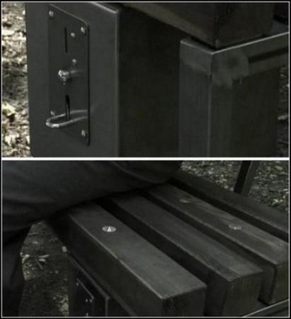 Чудо-скамейка от немецких дизайнеров