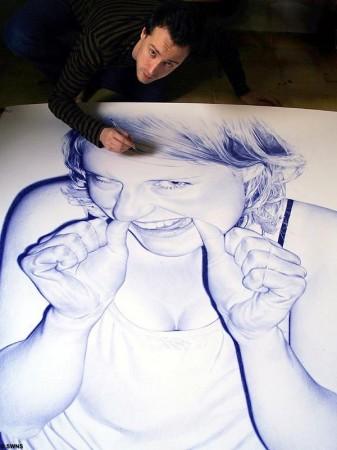 Пусть школота учится как надо рисовать геливой ручкой :)