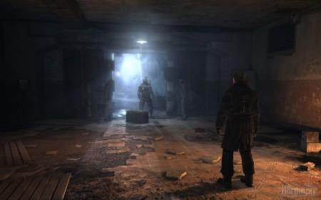 Скриншоты Metro 2033 c Fermi