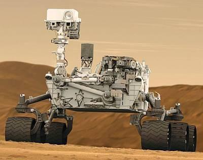 Curiosity пересек песчаные дюны