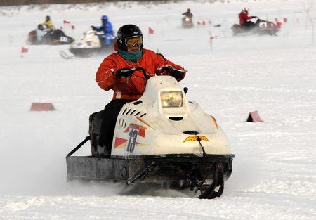 «Гонки на снегоходах 2014»
