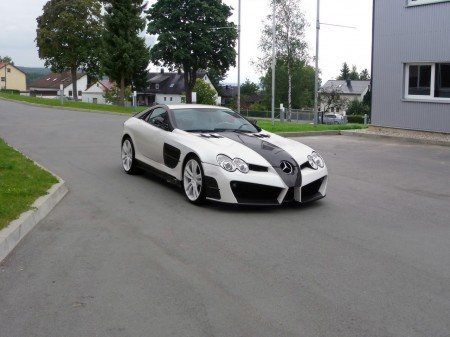 Mansory Mercedes-Benz SLR McLaren Renovatio