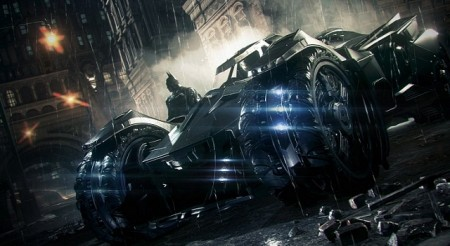 Batman: Arkham Knight - Бэтмобиль