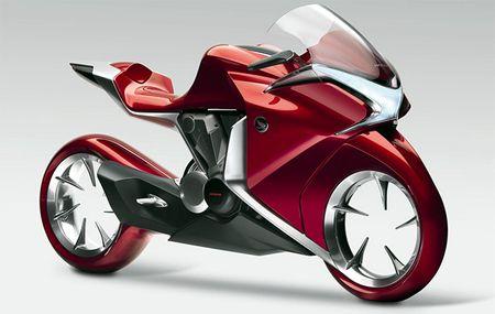 Мотоцикл с колесами без ступиц