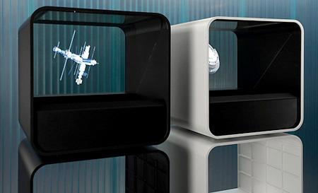 HoloCube: проектор 3D видео-голограмм