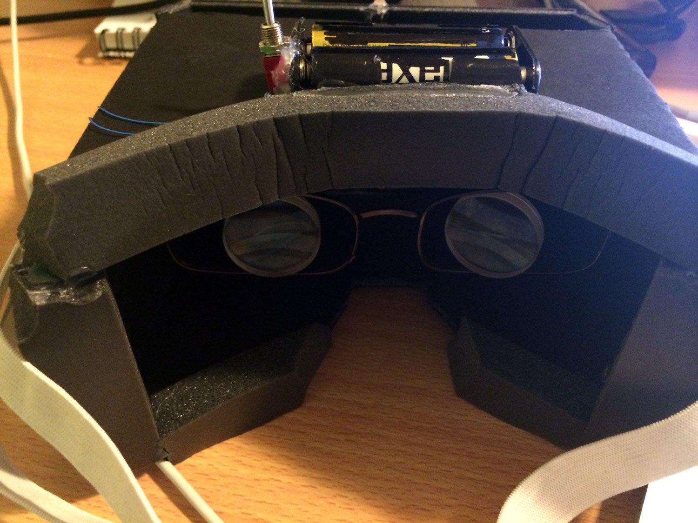 Очки виртуальной реальности своими руками для компьютера 7