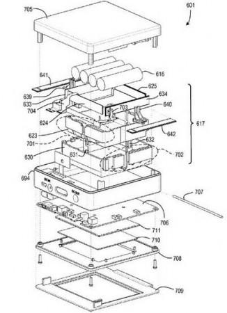 Nokia запатентовала «самозарядный» телефон