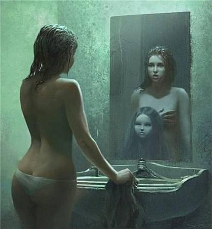 Почему нельзя спать напротив зеркала?