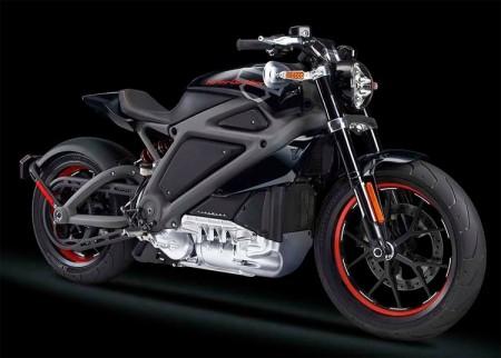 Первый электрический мотоцикл Harley-Davidson