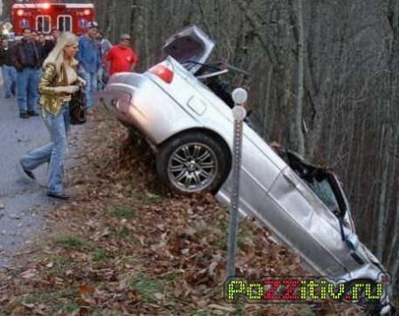 Самые сумасшедшие аварии!