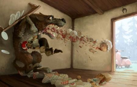 Иллюстрации Вальдемара Казака