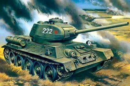 Танк Т-34 прибыл в Нарьян-Мар