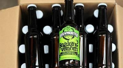 Шотландцы сварили самое крепкое пиво в мире