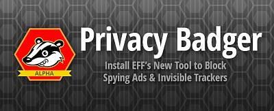 Privacy Badger: расширение для Firefox и Chrome, защищающее от слежки
