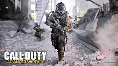 Зрелищный трейлер Call of Duty: Advanced Warfare