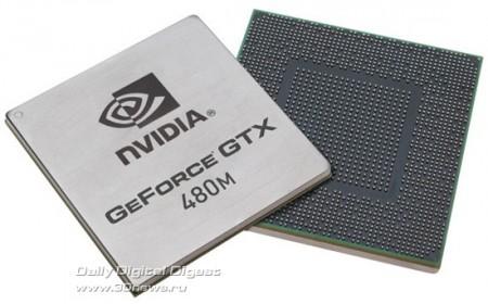 Официальная премьера NVIDIA GeForce GTX 480M