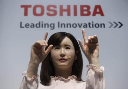 CES 2015: Девушка-робот от Toshiba