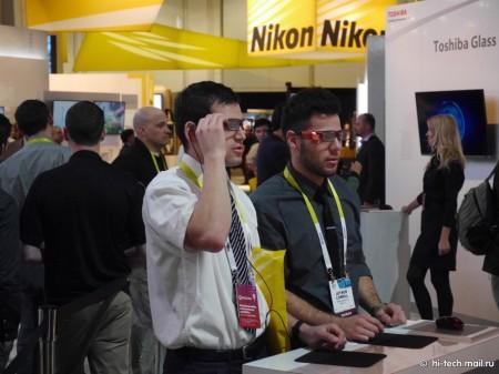 CES 2015: Очки от Toshiba