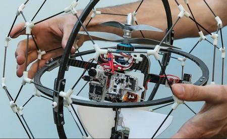 Сферические летающие дроны