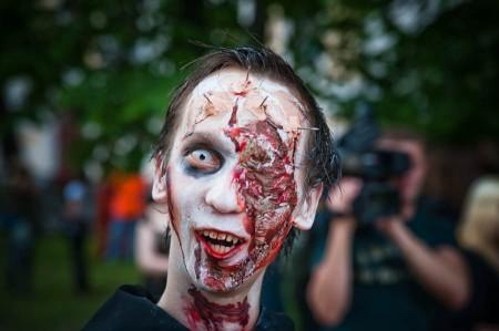 Зомби-парад в Москве