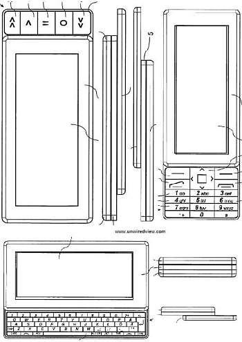 Тройной(!) слайдер от Nokia