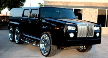 Chrysler Diablo Concept  и Hummer Лимузин !!!!