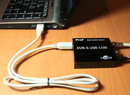 Prof DVB-S 1100 USB
