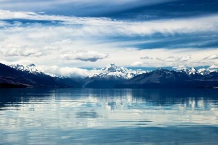 Mt. Cook - самая высокая гора Новой Зеландии