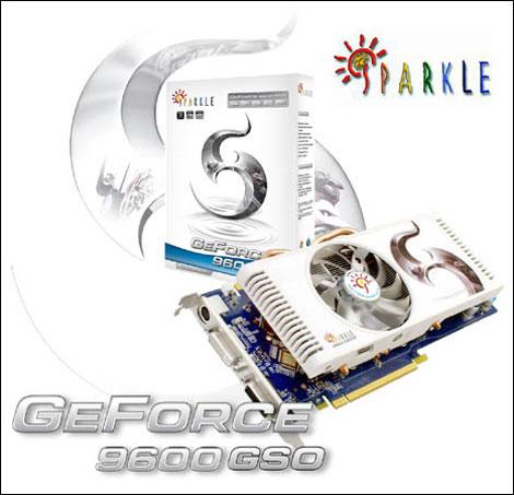 SPARKLE GeForce 9600 GSO