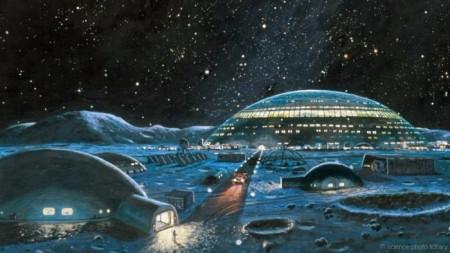 Проект строительства международной лунной деревни