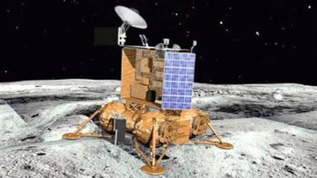Макет российского аппарата для изучения Луны